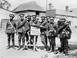 Photo of soldiers from the Great War