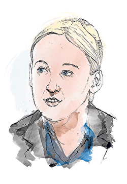 Portrait of Mhairi Black