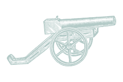 Illustration of a cannon