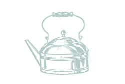 Illustration of an old kettle