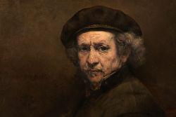 Painting of Rembrandt Harmenszoon van Rijn