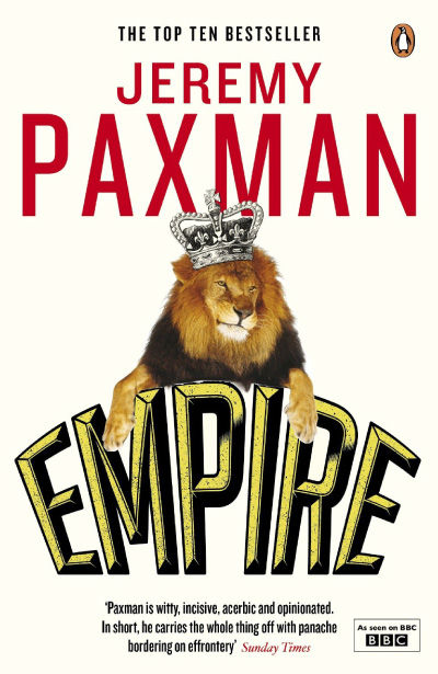 Book cover of Jeremy Paxman's 'Empire'