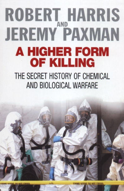 Book cover of Jeremy Paxman's 'A higher form of killing'