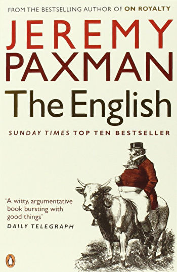 Book cover of Jeremy Paxman's 'The English'