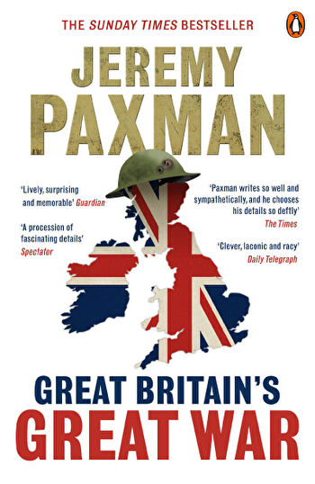 Book cover of Jeremy Paxman's 'Great Britain's Great War'