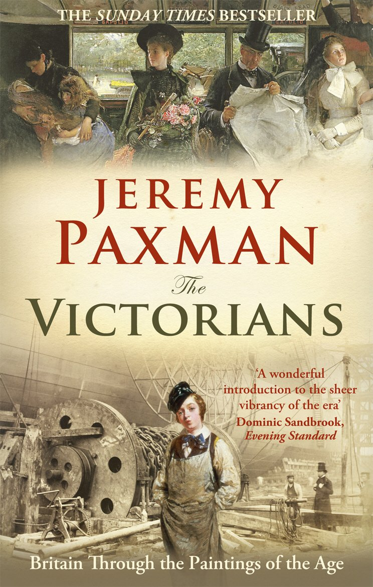 Book cover of Jeremy Paxman's 'The Victorians'