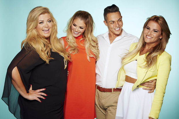 Photo of the cast of 'The Only Way Is Essex' also known as 'TOWIE'