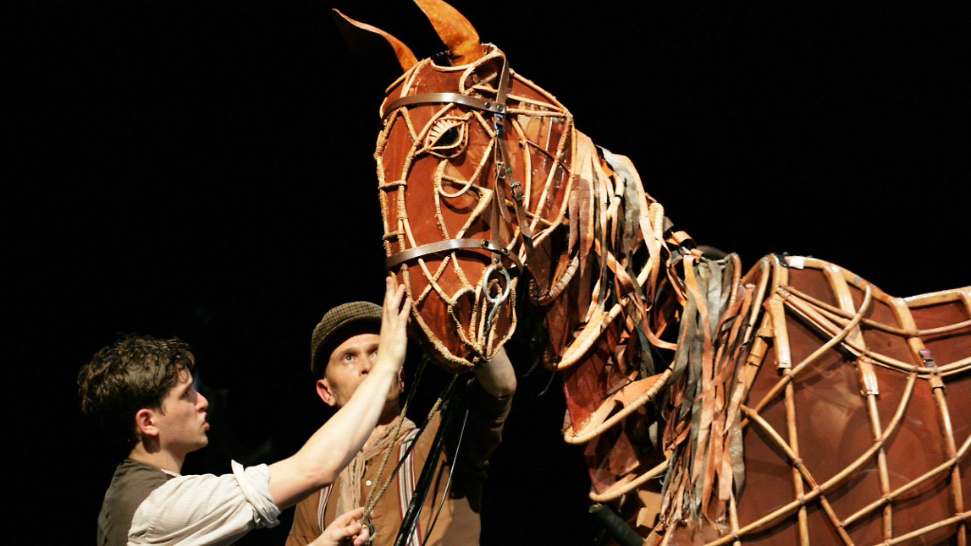 Photo from the War Horse theatre production